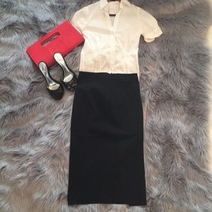 French Connection Blacks Pencil Skirt